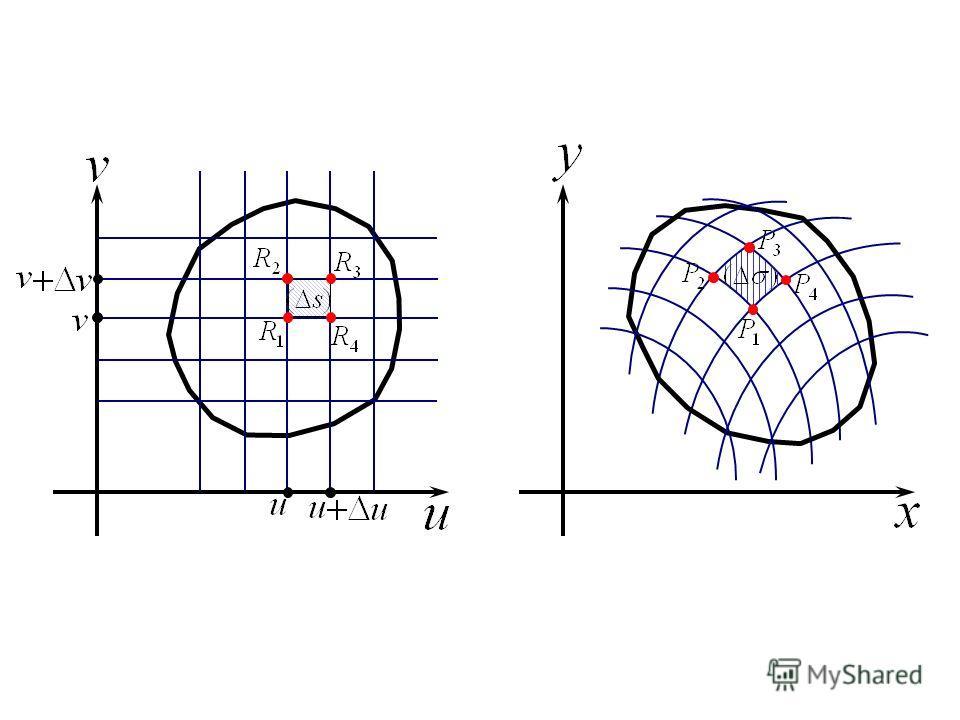 Пусть отображение (1) удовлетворяет следующим условиям: а)отображение (1) взаимно однозначно в замкнутой квадрируемой области (G) (т.е. различным точкам области (G) соответствуют различные точки области (σ)); б)функции φ(u,v), ψ(u,v) имеют в области