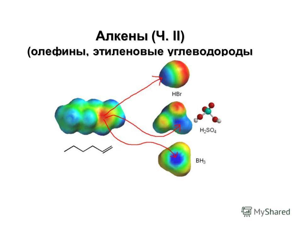 Алкены (Ч. II) (олефины, этиленовые углеводороды