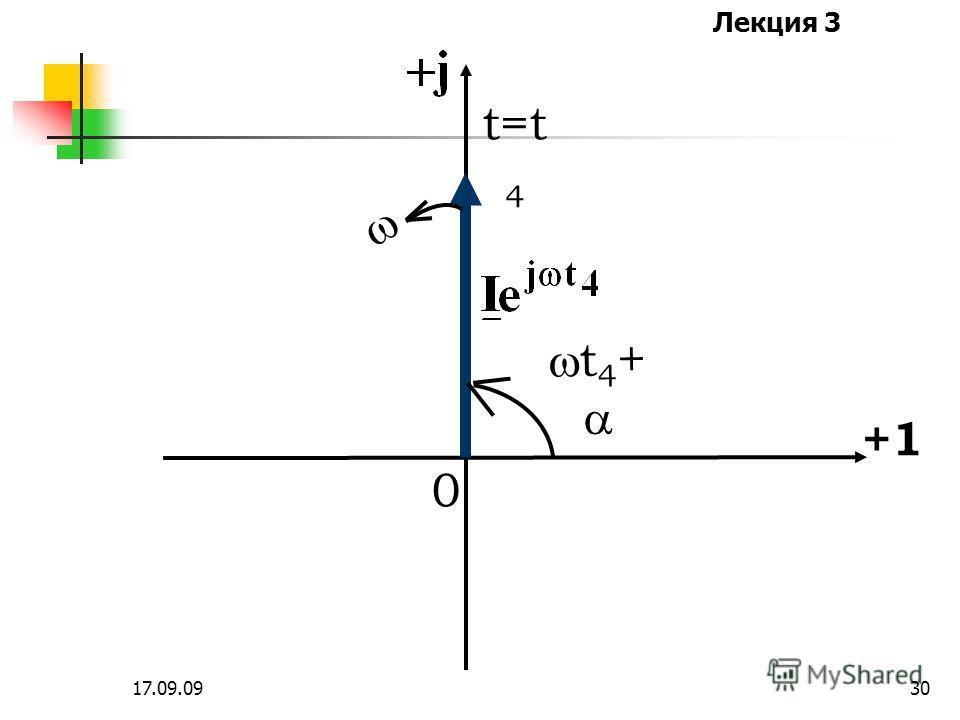 Лекция 3 17.09.0929 t=t 3 +1 0 t 3 +