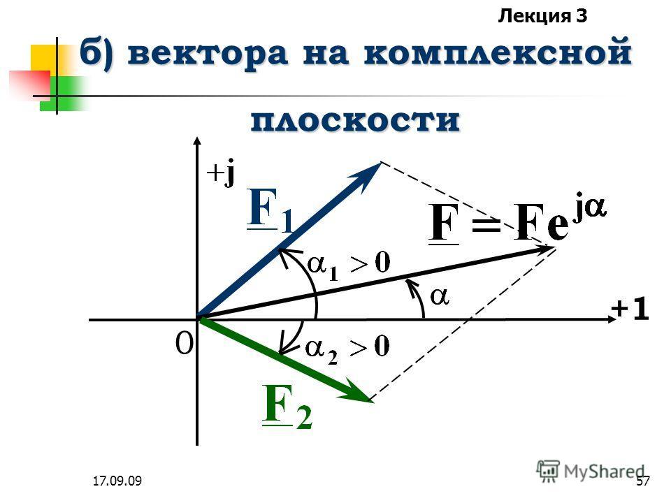 Лекция 3 17.09.0956 а) комплексные числа определяются и определяются и