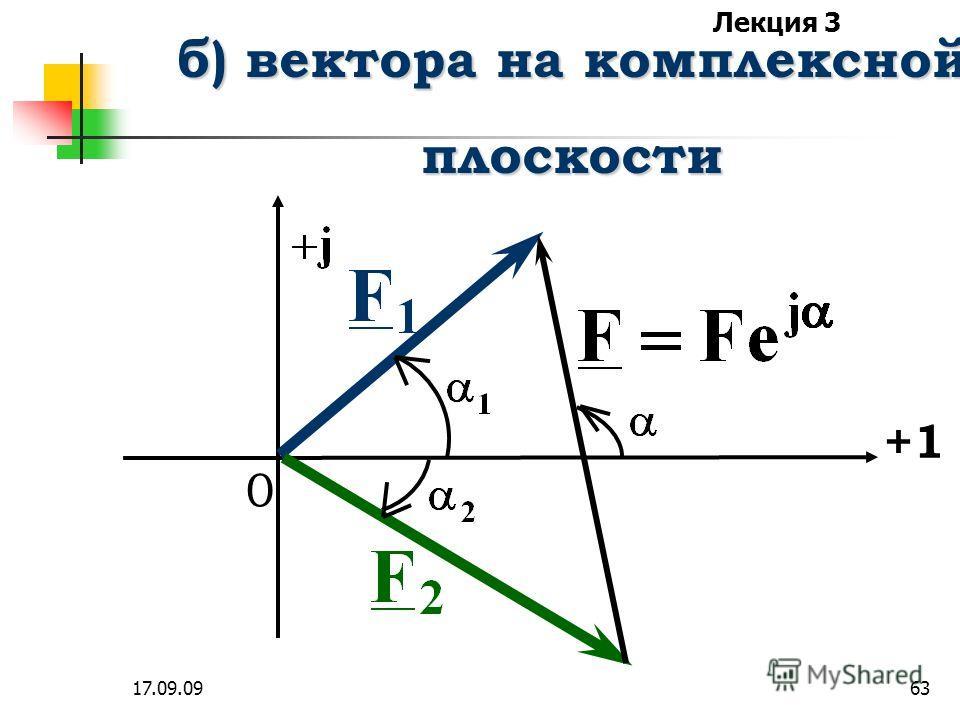 Лекция 3 17.09.0962 а) комплексные числа определяются и определяются и