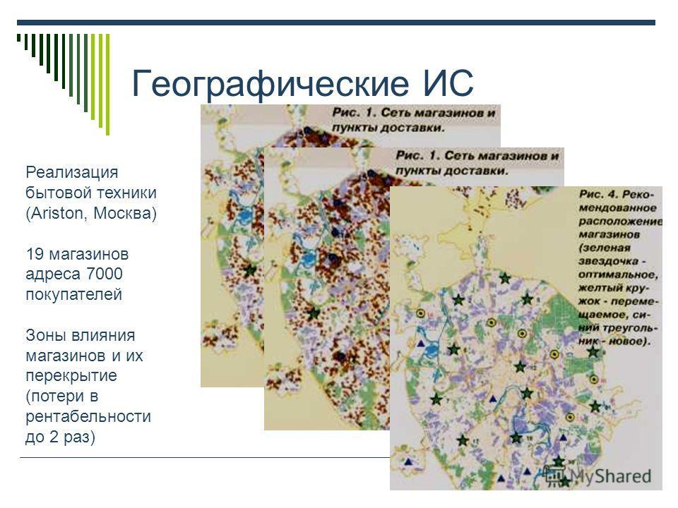 Географические ИС Доставка и продажа журналов (Изд-во Коммерсантъ, Москва)