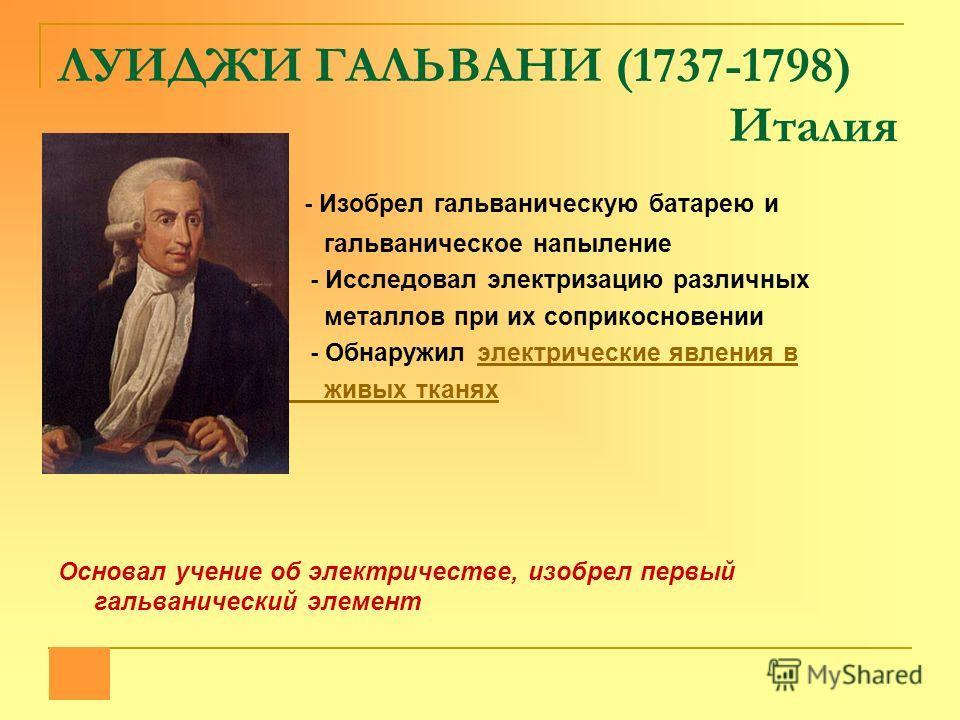 ШАРЛЬ КУЛОН (1736-1806) Франция - Исследовал внешнее трение - Изучал кручение тонких нитей и создал чувствительные крутильные весы, с помощью которых провел много экспериментов поэкспериментов по электричеству В честь ученого названа единица количест