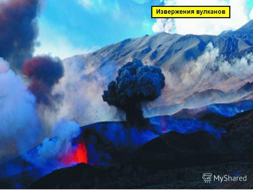 Извержения вулканов