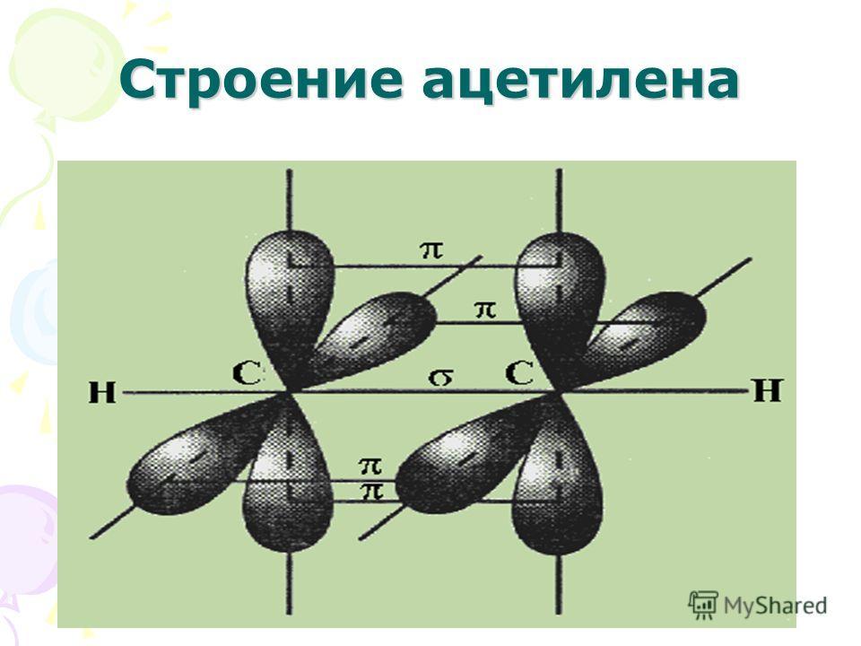 Строение ацетилена