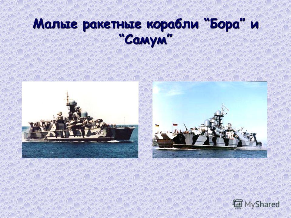 Малые ракетные корабли Бора и Самум