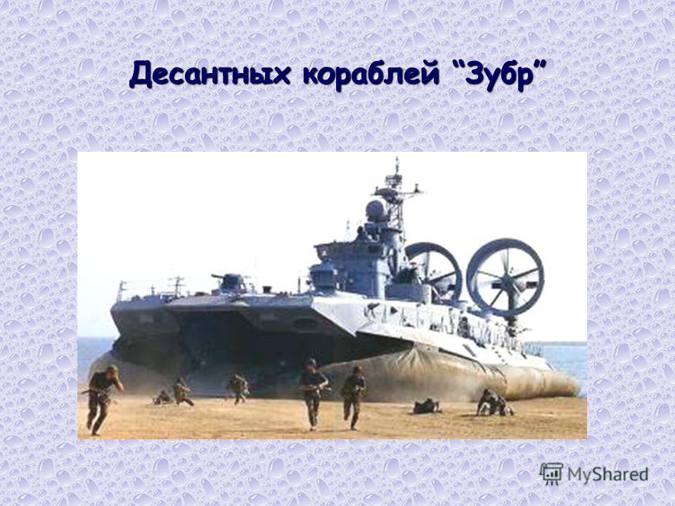 Десантных кораблей Зубр