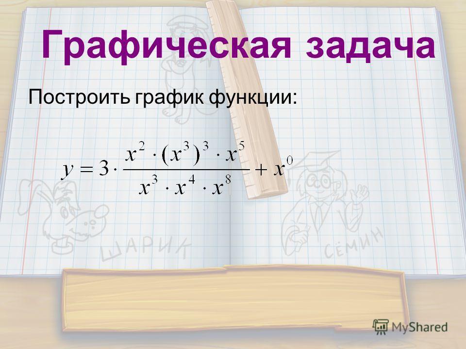 Графическая задача Построить график функции: