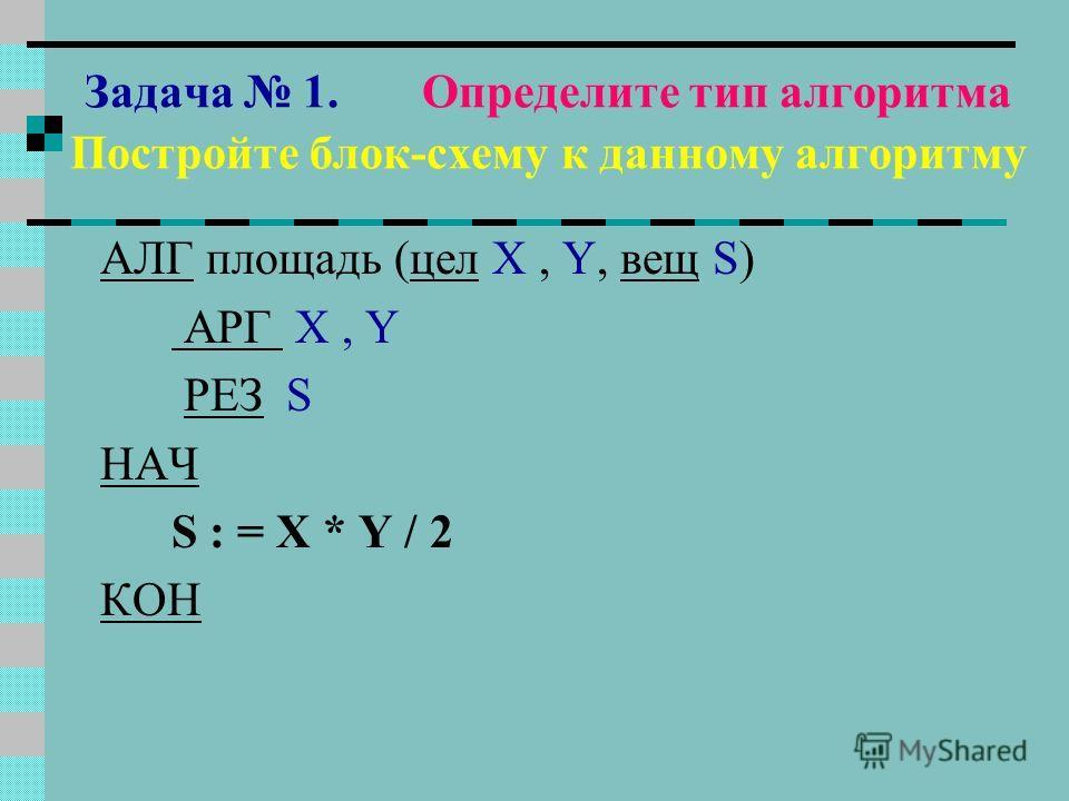 ПОСТРОЙ БЛОК - СХЕМУ