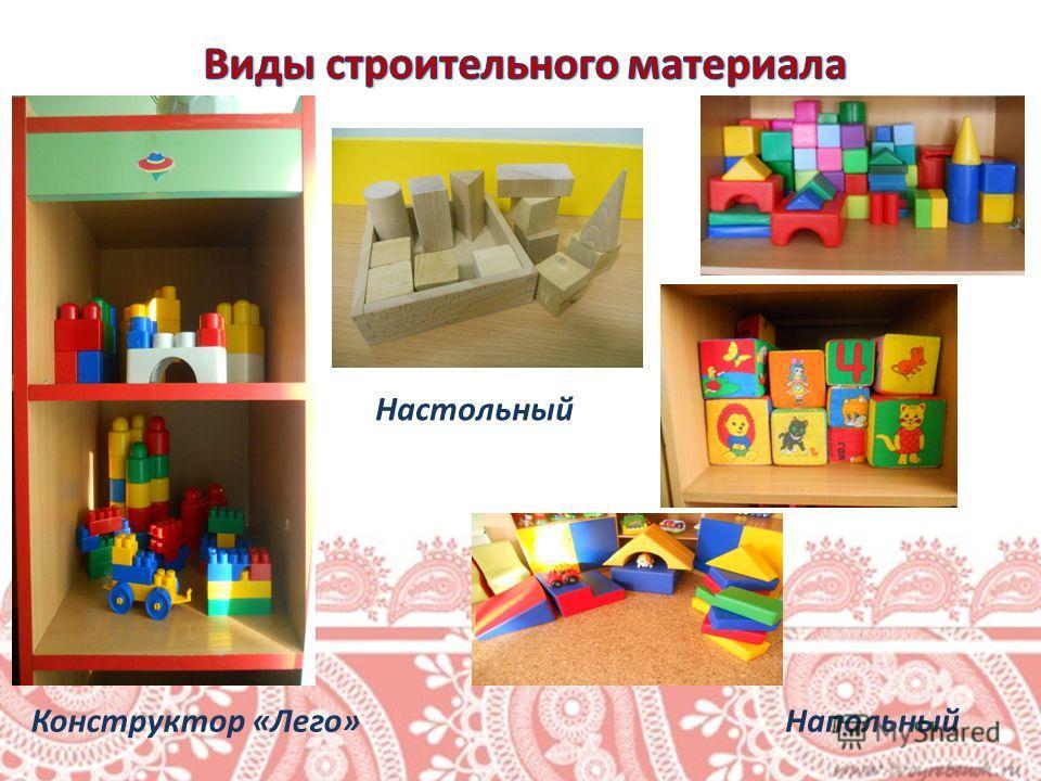 Настольный НапольныйКонструктор «Лего»