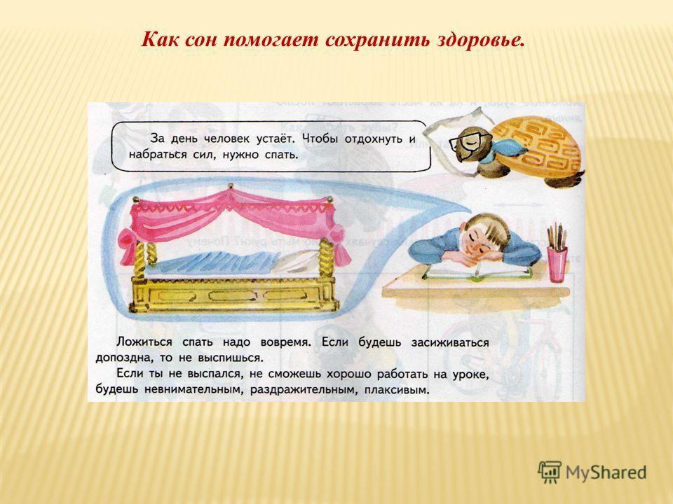 Как сон помогает сохранить здоровье.