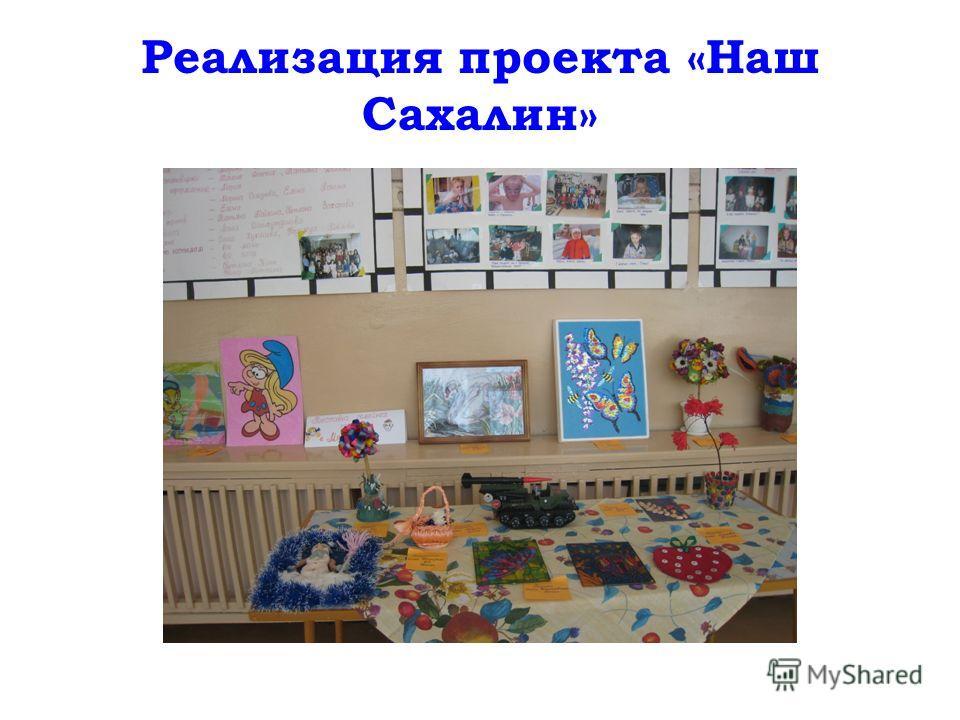 Реализация проекта «Наш Сахалин»