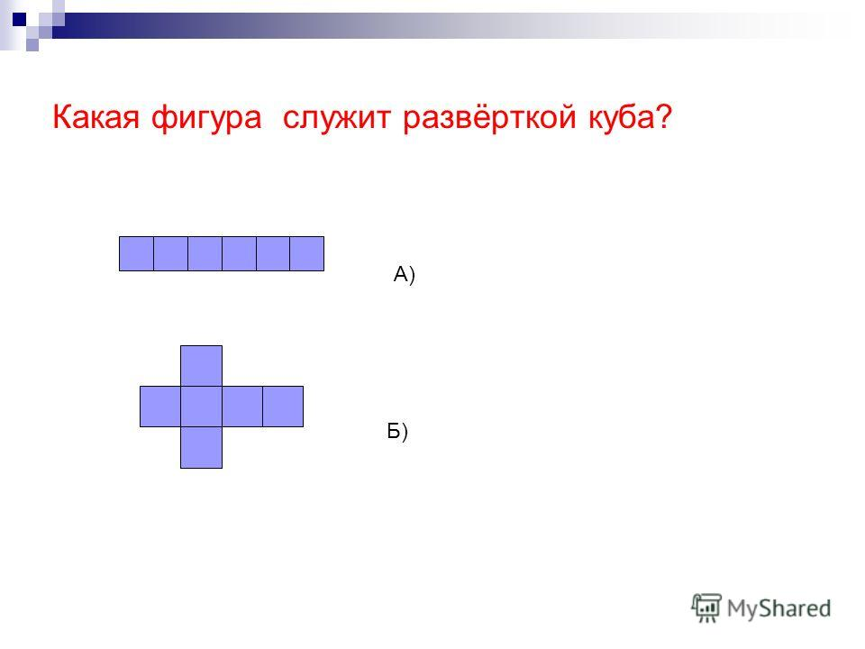 Какие из указанных фигур на рисунке являются развёртками правильного октаэдра? А) Б) В)