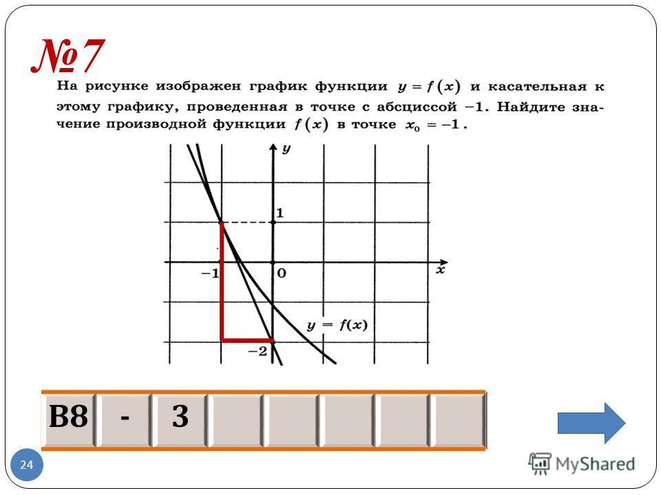7 В8В8 -3 24