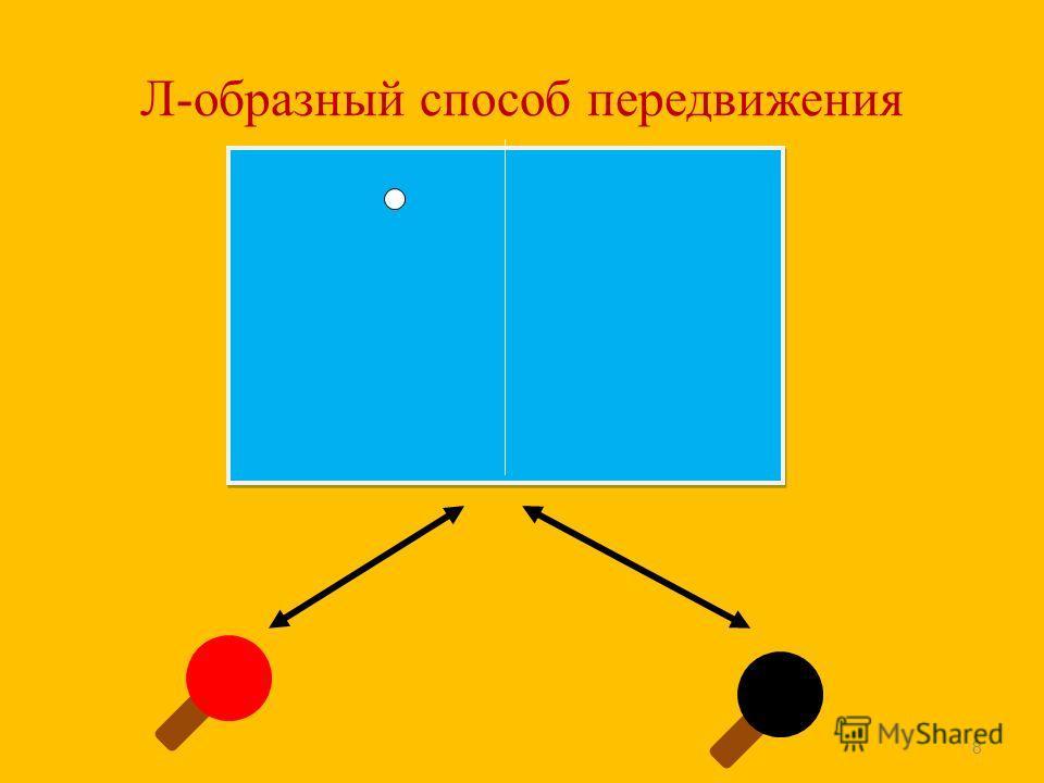 Л-образный способ передвижения 8