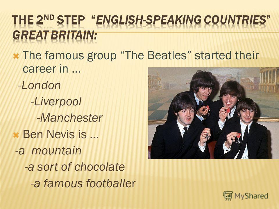 The Beatles Презентация На Русском Языке