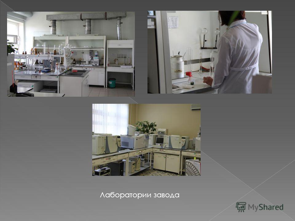 Лаборатории завода
