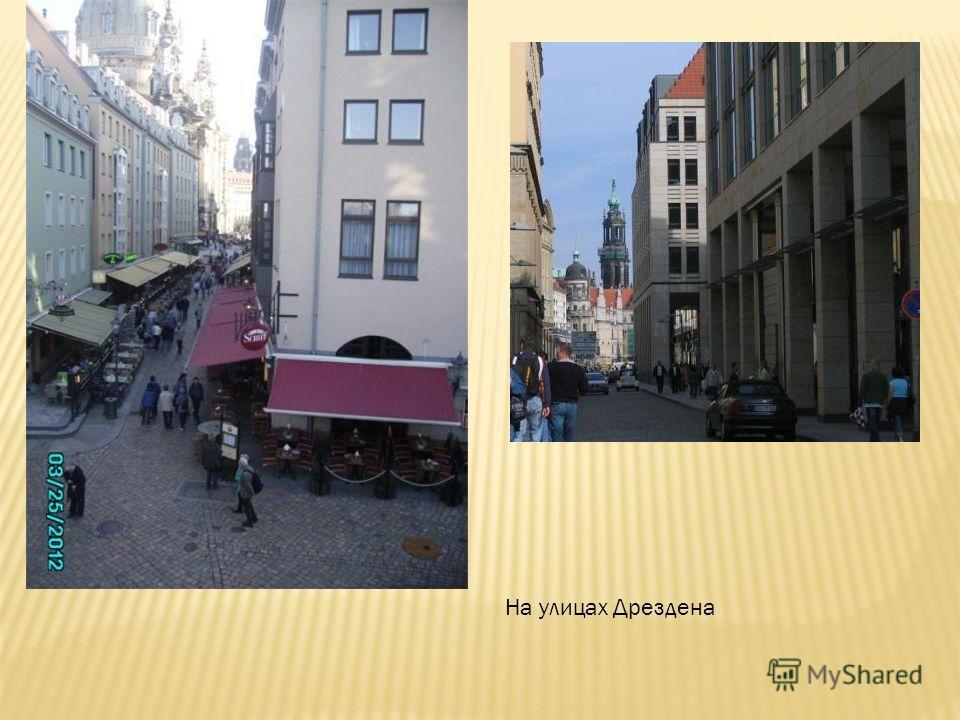 На улицах Дрездена