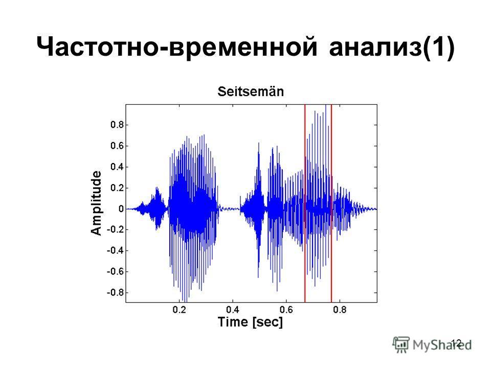 12 Частотно-временной анализ(1)