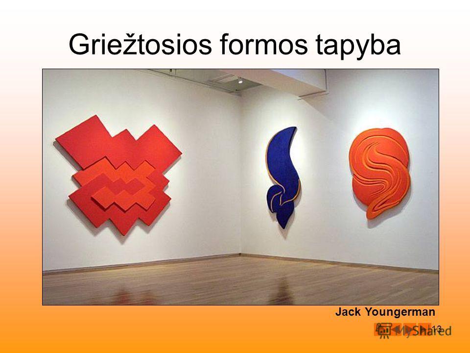 13 Jack Youngerman Griežtosios formos tapyba