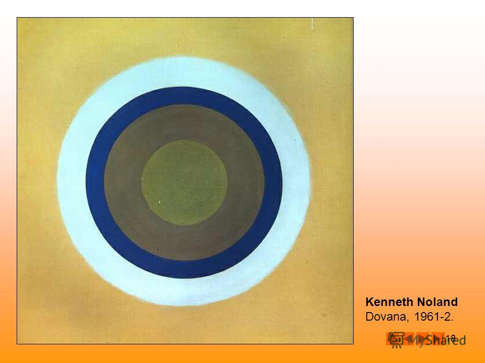 18 Kenneth Noland Dovana, 1961-2.