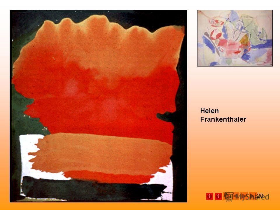 20 Helen Frankenthaler