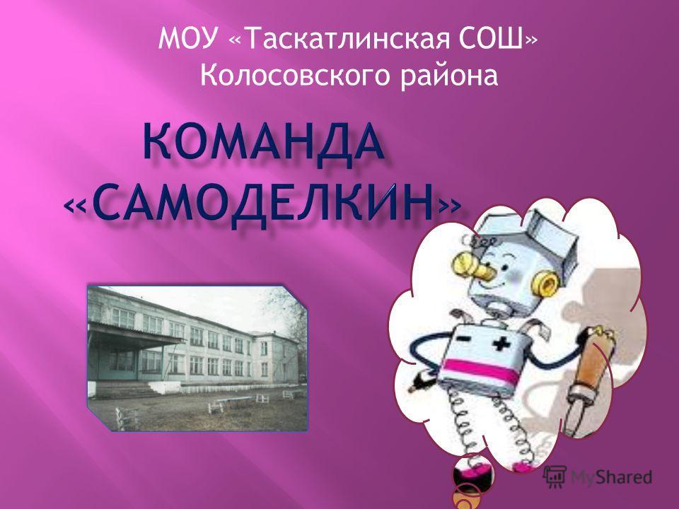 МОУ «Таскатлинская СОШ» Колосовского района