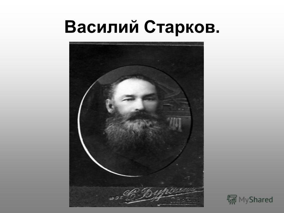 Василий Старков.