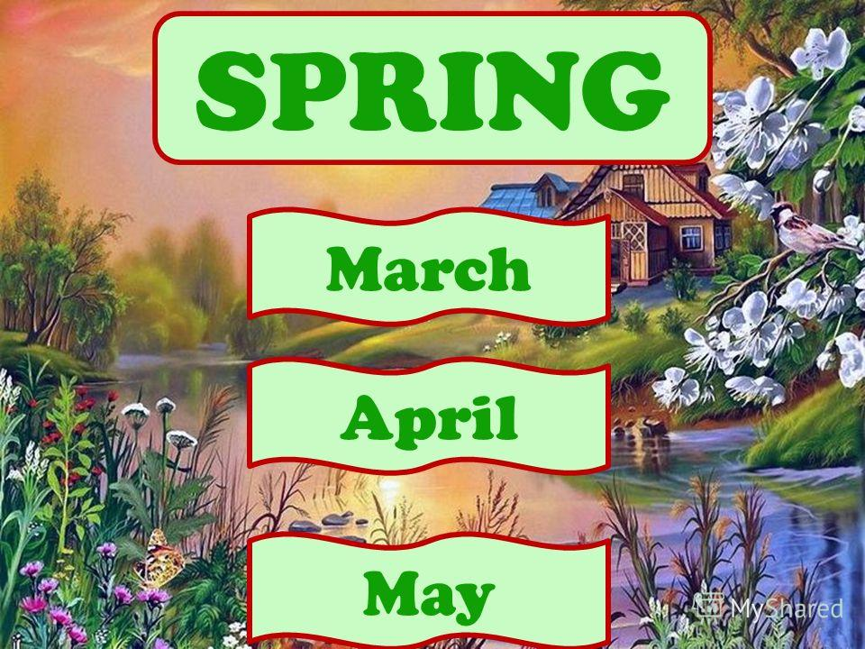 SPRING April March May