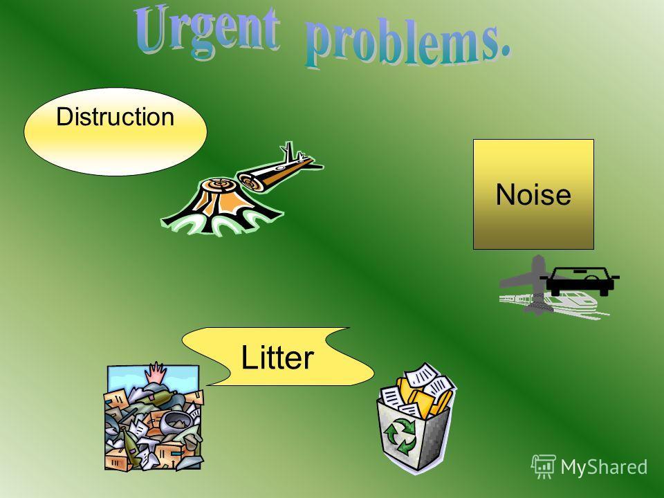Noise Distruction Litter