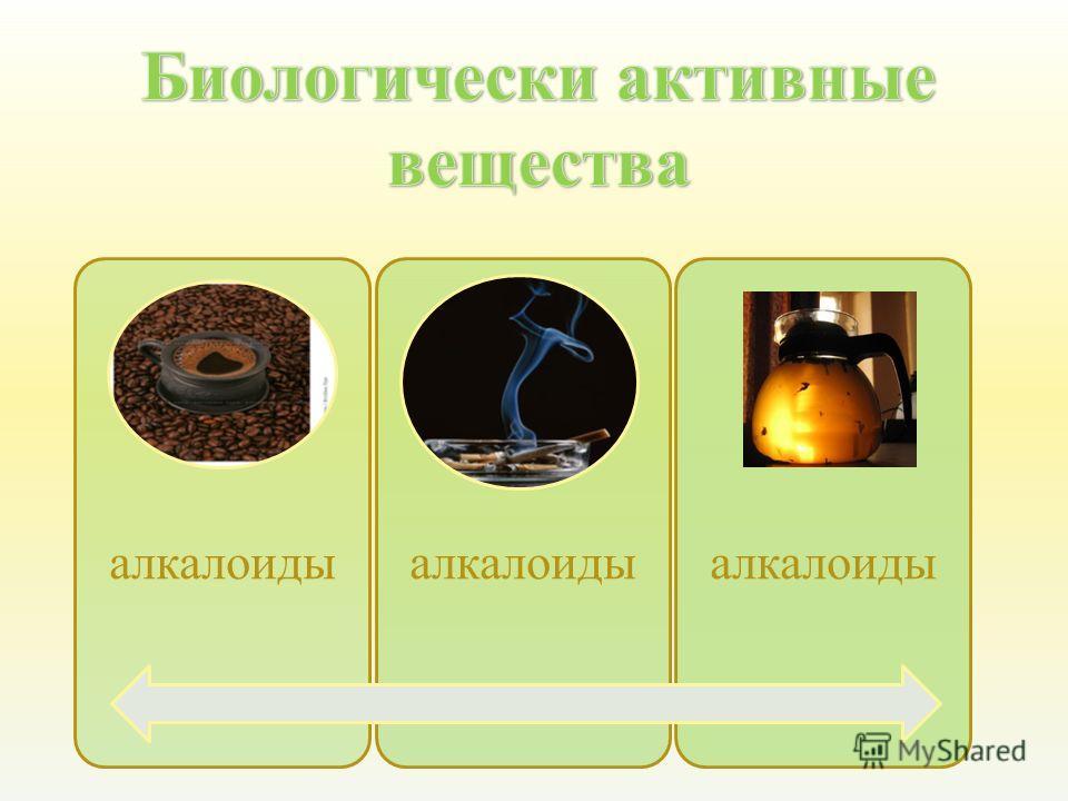 алкалоиды