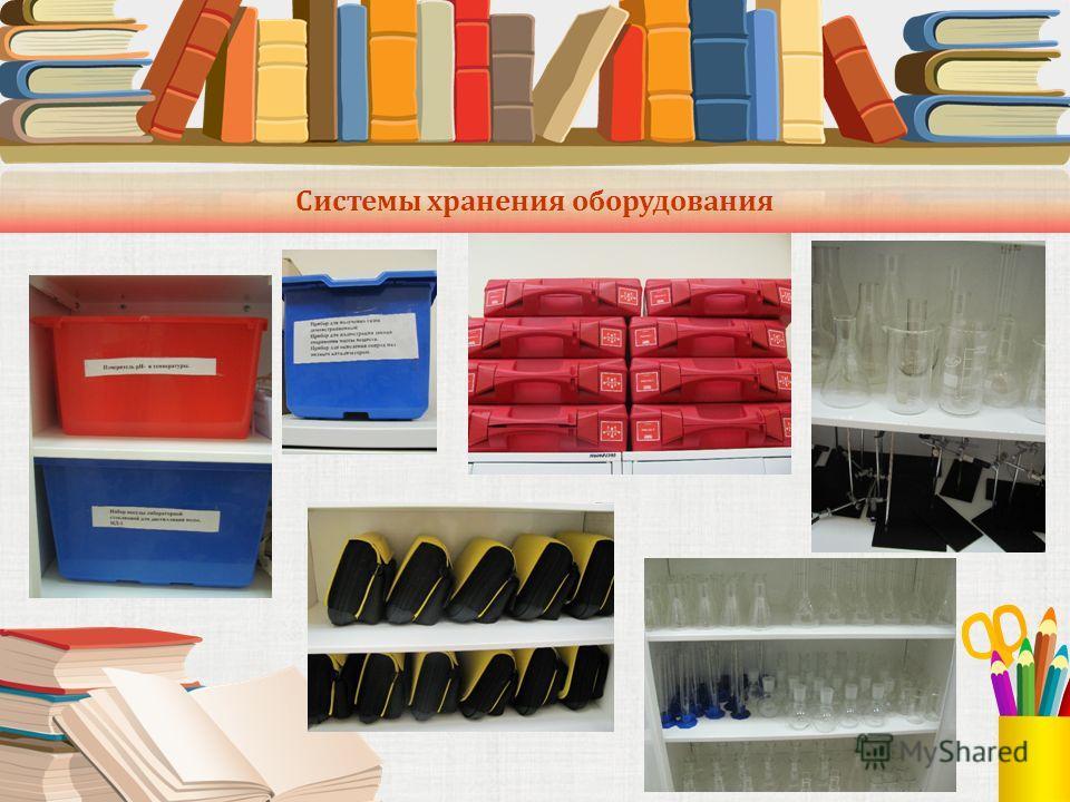 Системы хранения оборудования