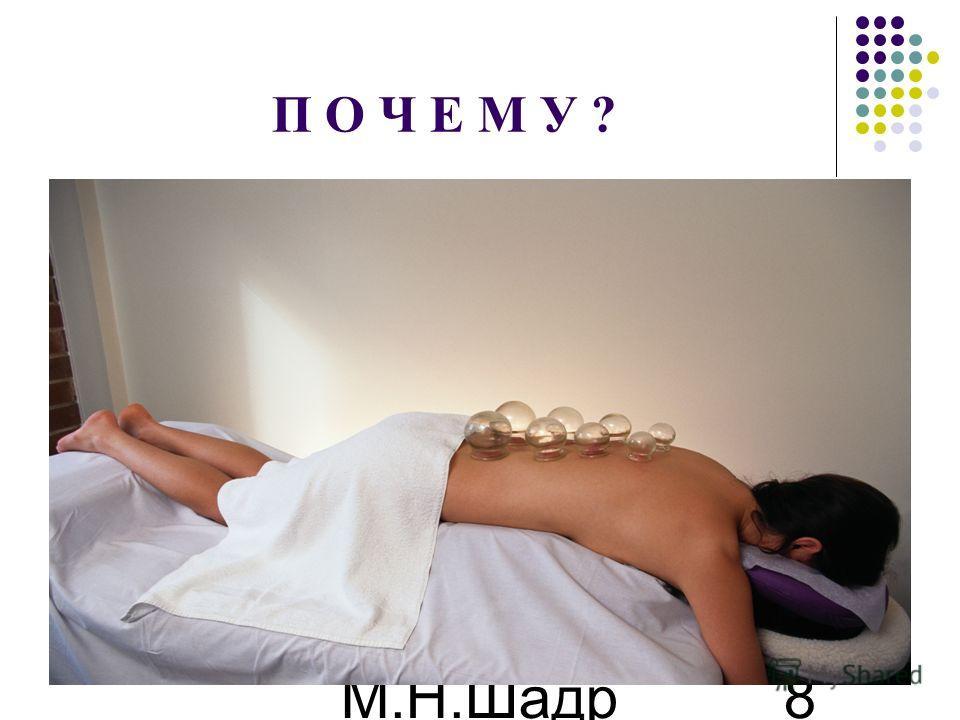 М.Н.Шадр ина 8 П О Ч Е М У ?