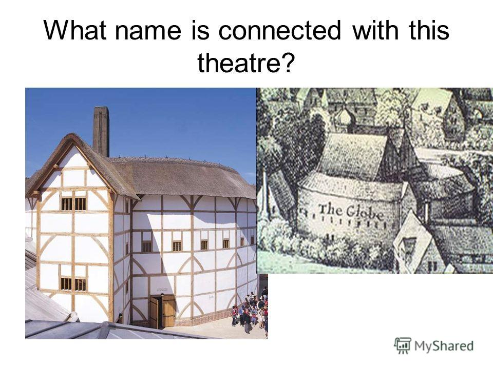 What name is connected with this theatre?