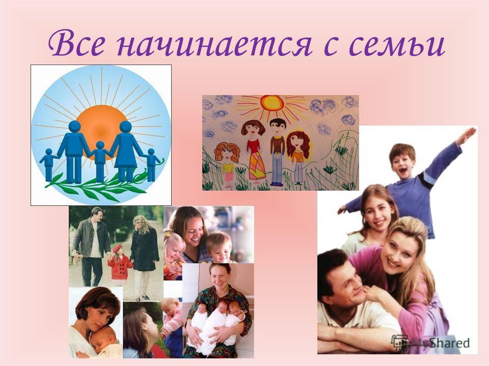 Все начинается с семьи