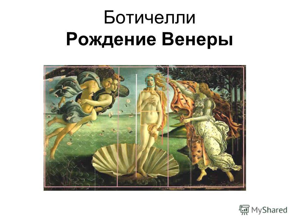 Ботичелли Рождение Венеры
