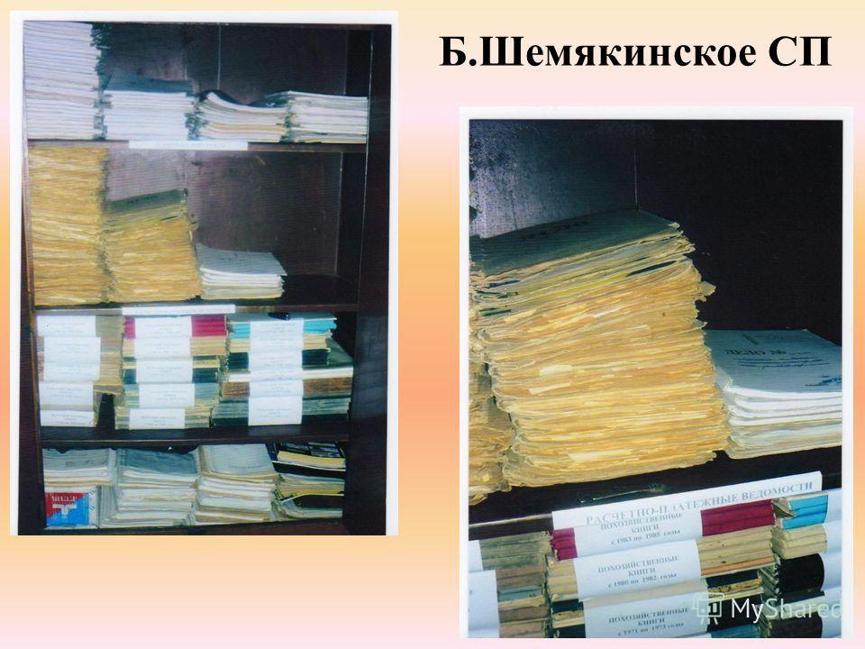 Б.Шемякинское СП