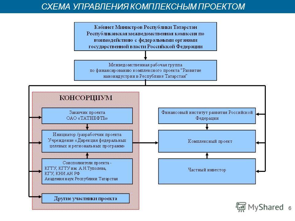 Казань 2008 СХЕМА УПРАВЛЕНИЯ КОМПЛЕКСНЫМ ПРОЕКТОМ 6