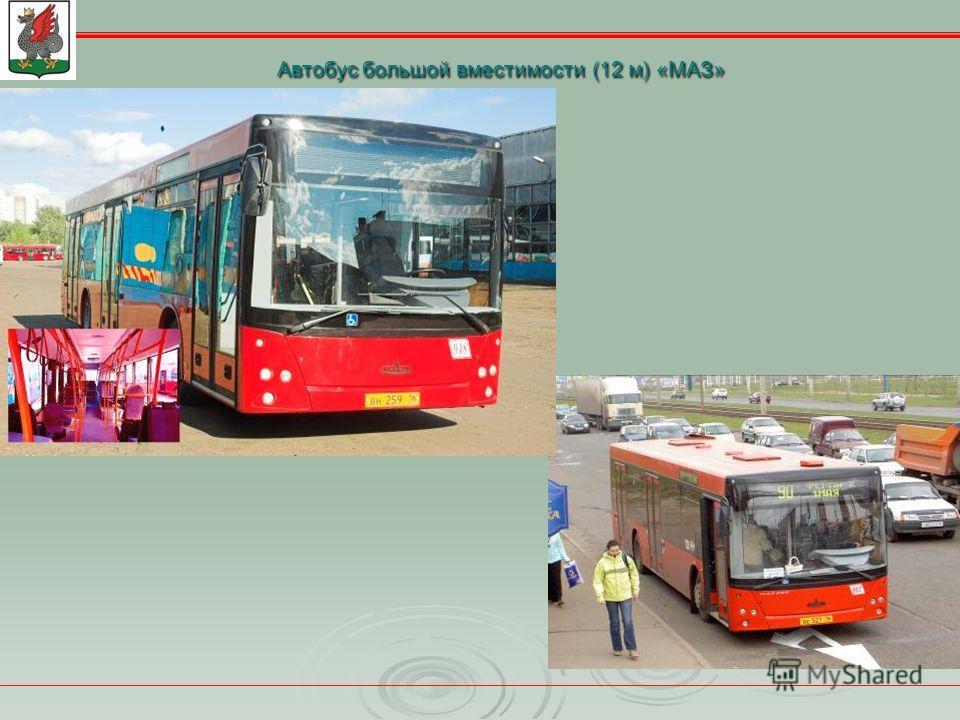 Автобус большой вместимости (12 м) «МАЗ»