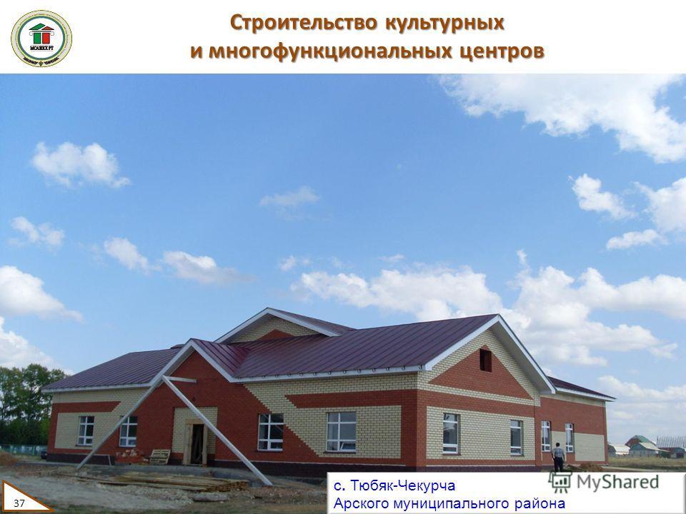 Строительство культурных и многофункциональных центров с. Тюбяк-Чекурча Арского муниципального района 37