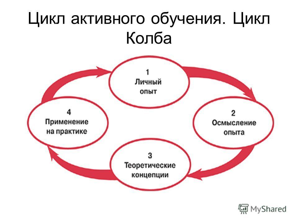 Цикл активного обучения. Цикл Колба