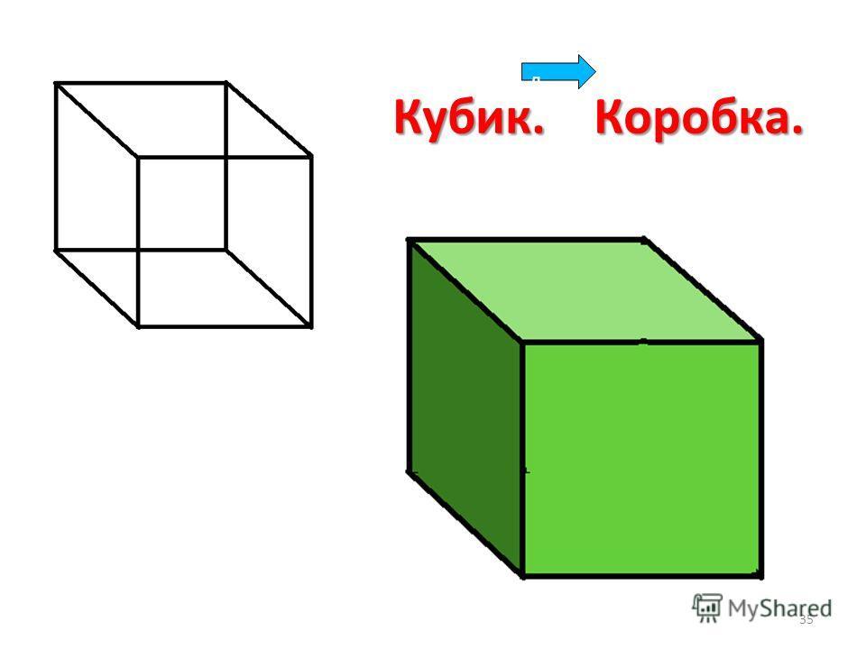 Кубик. Коробка. д 35