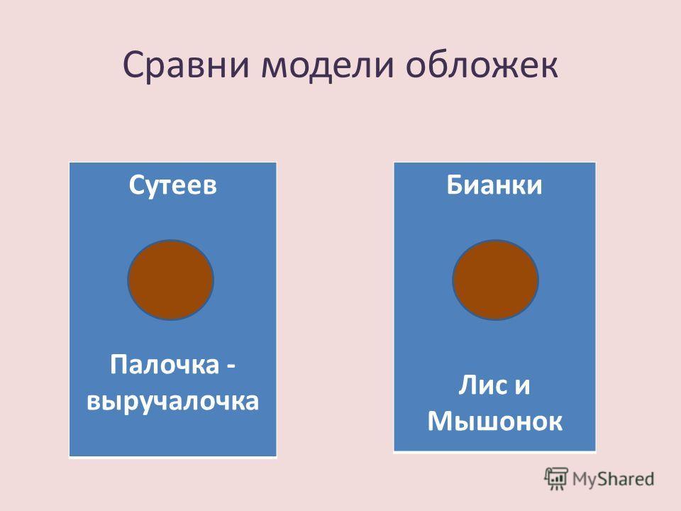 Сравни модели обложек Сутеев Палочка - выручалочка Бианки Лис и Мышонок
