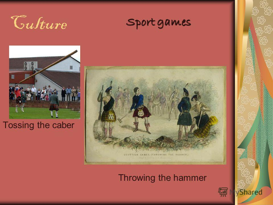 Culture Sport games Tossing the caber Throwing the hammer