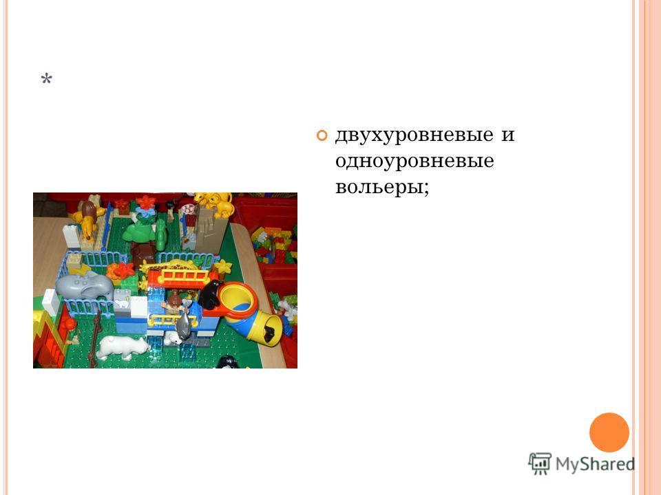 * вход в зоопарк оформлен аркой, минимизированным домиком для контролера;