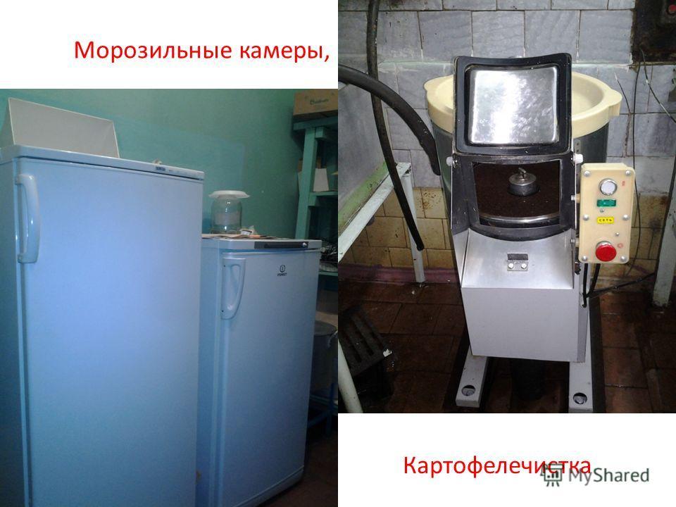 Морозильные камеры, Картофелечистка