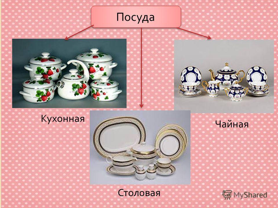 Посуда Кухонная Чайная Столовая