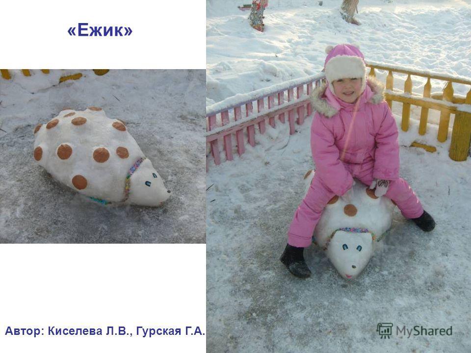«Ежик» Автор: Киселева Л.В., Гурская Г.А.
