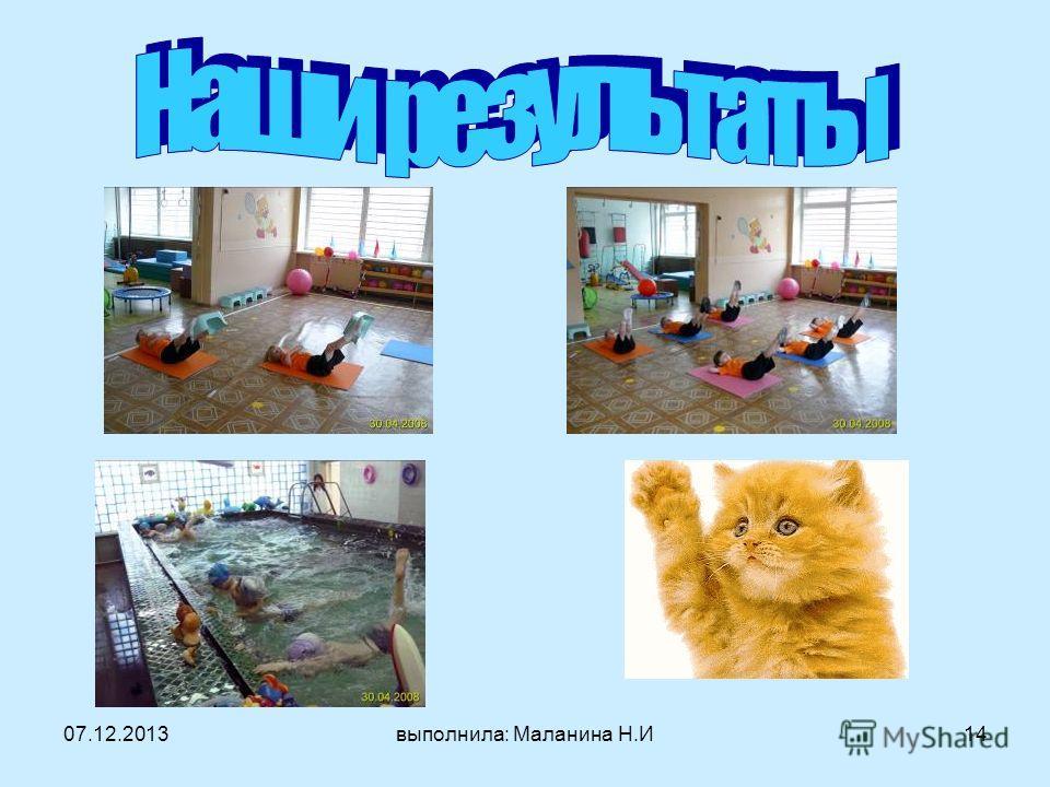 07.12.2013выполнила: Маланина Н.И14