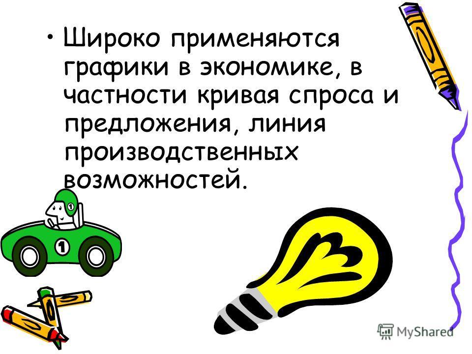 применяются графики в экономике, в ...: www.myshared.ru/slide/625748